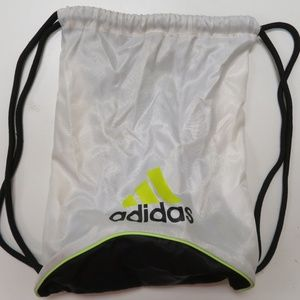 Adidas Drawstring Backpack Sport Gym Sack Bag